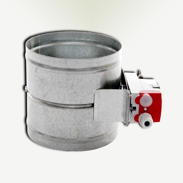 motorized round volume damper best